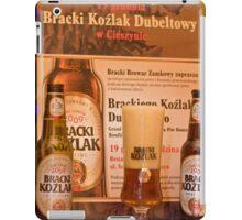 Offers good beer!!! iPad Case/Skin