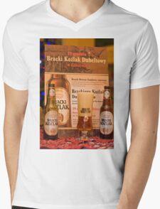 Offers good beer!!! Mens V-Neck T-Shirt