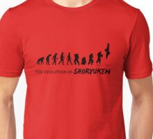 The evolution of Shoryuken Unisex T-Shirt