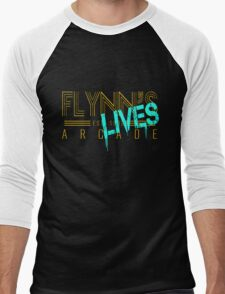 Flynn's Lives Men's Baseball ¾ T-Shirt