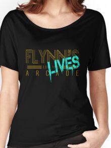 Flynn's Lives Women's Relaxed Fit T-Shirt