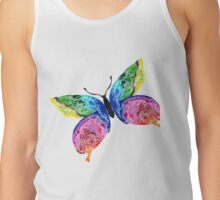 Rainbow Butterfly Tank Top