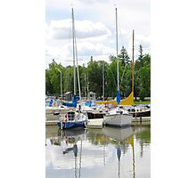 Marina Colors Photographic Print