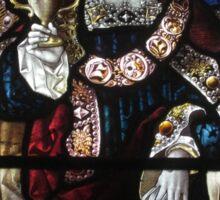 Stained Glass (1), Lady St Mary Parish Church, Wareham Sticker
