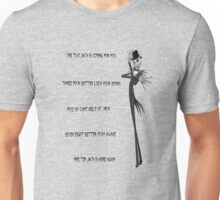 Skellington on Elm Street Unisex T-Shirt