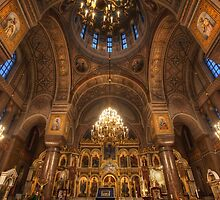Uspenski Cathedral by Conor MacNeill