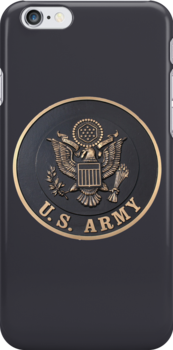 US Army iphone case by Karl R. Martin