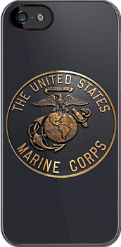US Marine Corp iphone case by Karl R. Martin