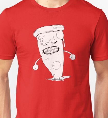 Angry Pizza Unisex T-Shirt