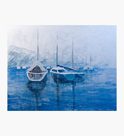 Sail Harbor Photographic Print