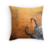 Disfigured/Dismantled: Rage Throw Pillow