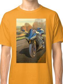 Sport motorcycle in Fall Classic T-Shirt