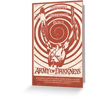Army of Darkness (1992) Custom Poster Greeting Card