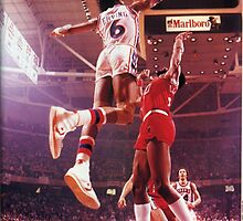 Dr. J slam dunk by BIGDREAMS001