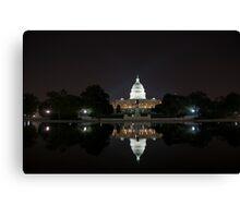 US Capital Building Canvas Print
