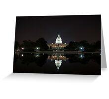 US Capital Building Greeting Card