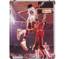 Dr. J slam dunk iPad Case/Skin