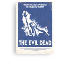 The Evil Dead (1981) Custom Poster Canvas Print