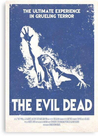 The Evil Dead (1981) Custom Poster by Edward B.G.