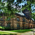 One of many beautiful buildings in Princeton. by Bob Culver