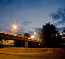 Queanbeyan At Night by tmac