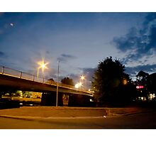 Queanbeyan At Night Photographic Print