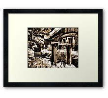The Bell II Framed Print