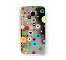 Poppies colorful Snow Landscape Samsung Galaxy Case/Skin