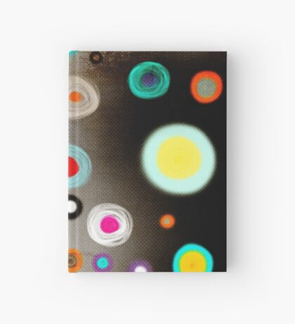 Poppies colorful Snow Landscape Hardcover Journal