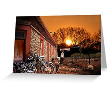 Only at Sunset Greeting Card