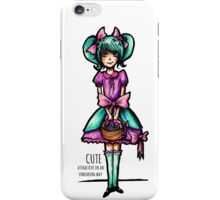 Cute: Attractive in an Endearing Way iPhone Case/Skin