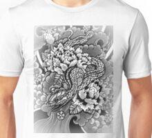 japanese snake in wonderland Unisex T-Shirt
