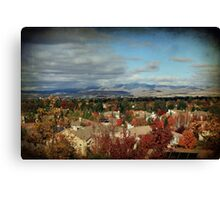 As Far As I Can See Canvas Print