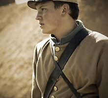 The Civil War Reenactor-1159 by Michael Byerley