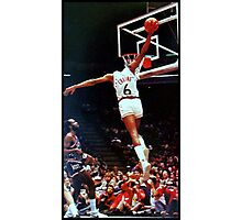 Dr. J Slam Dunk Photographic Print