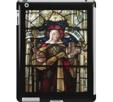 Stained Glass (2), Lady St Mary Parish Church, Wareham iPad Case/Skin
