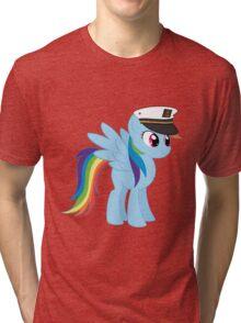 Captain Rainbow Dash Tri-blend T-Shirt