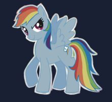 Rainbow Dash (Drawn) One Piece - Short Sleeve