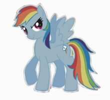 Rainbow Dash (Drawn) Kids Clothes