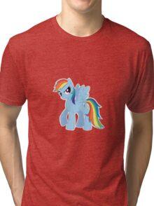 Rainbow Dash (Drawn) Tri-blend T-Shirt