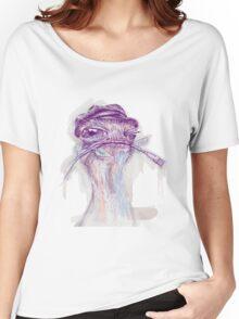 Ostrich Painter Women's Relaxed Fit T-Shirt