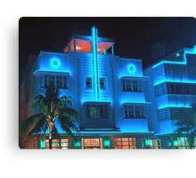 Miami Deco Lights Canvas Print