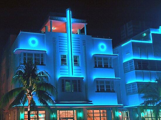 Miami Deco Lights by artstoreroom