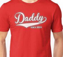 Daddy Since 2014 Unisex T-Shirt