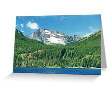 Waterton Lake, Alberta, Canada Greeting Card