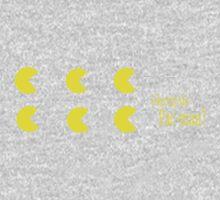 Pac-Man Pun Design Kids Tee