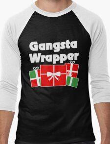 Gangsta wrapper Men's Baseball ¾ T-Shirt