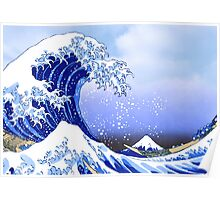 Surf's Up! Great Wave, Hokusai Poster