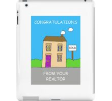 Congratulations from your Realtor iPad Case/Skin