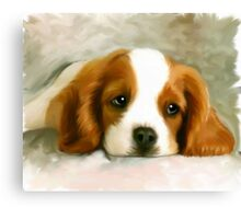 Pet Painting Canvas Print